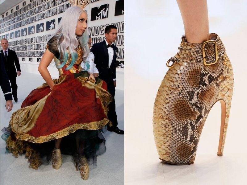 Lady Gaga Bad Romance Shoes | Lady Gaga Alexander McQueen ...