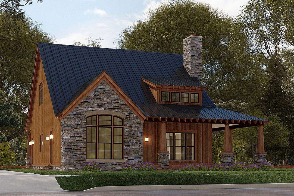 House Plan 8318 00185 Mountain Plan 2 006 Square Feet 3 Bedrooms 2 5 Bathrooms In 2021 Mountain House Plans Cabin Style Homes Craftsman House Plans