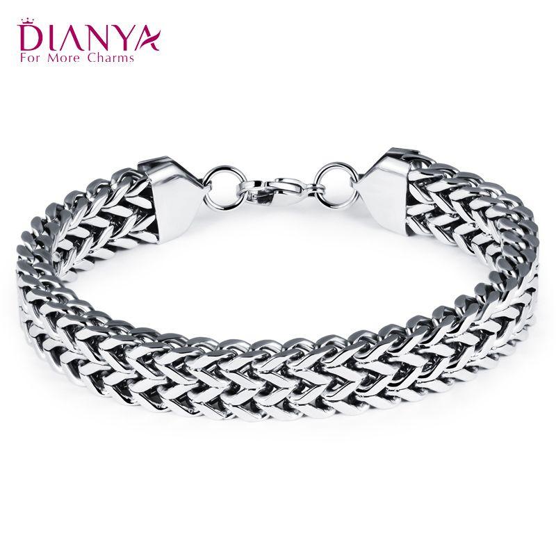 Uk Handmade. Men And Women Bracelet Cool Jewellery 316l Stainless Steel Cool Steel Bracelet Perfect Daily Wear Gifts For Men /& Woman