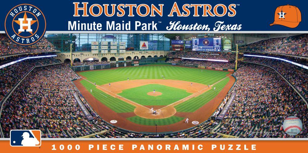Minute Maid Park Houston Astros 1000pc Panoramic Puzzle Br Only 1 Left Minute Maid Park Minute Maid Minute Maid Park Houston