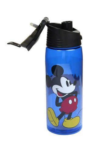 bfa746a222 Disney Cute Mickey Mouse Flip Top Water Bottle -- To view further for this  item, visit the image link.Note:It is affiliate link to Amazon.