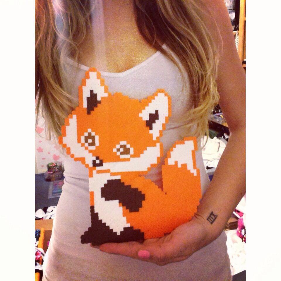 What does the fox say?!? Perler | Sick Perlers | Pinterest ...