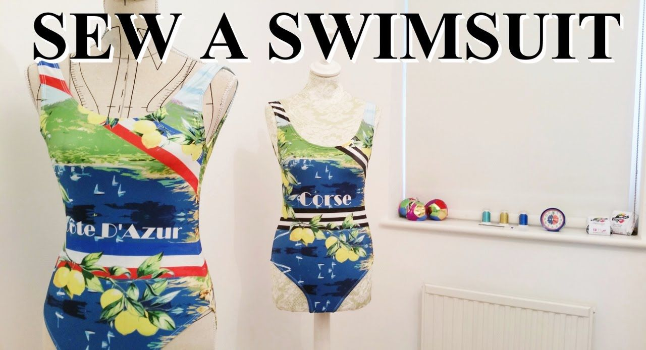 5d5394275f How to make a swimsuit - YouTube | Sewing leotards/dancewear ...
