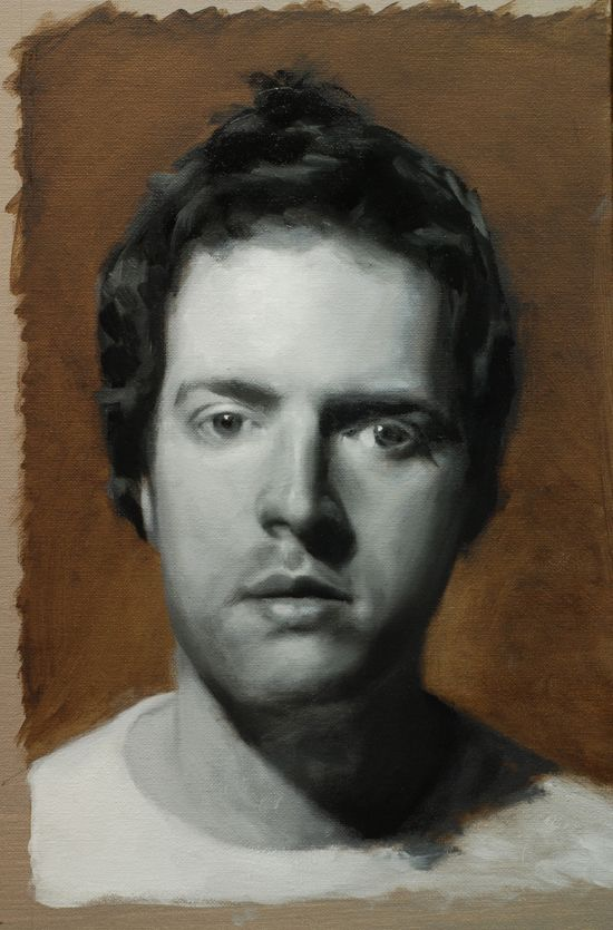 Black and white portrait tutorial part 4