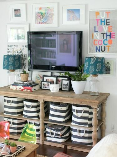 Decorate Your Tv Wall Home Decorating Ideas Good Housekeeping
