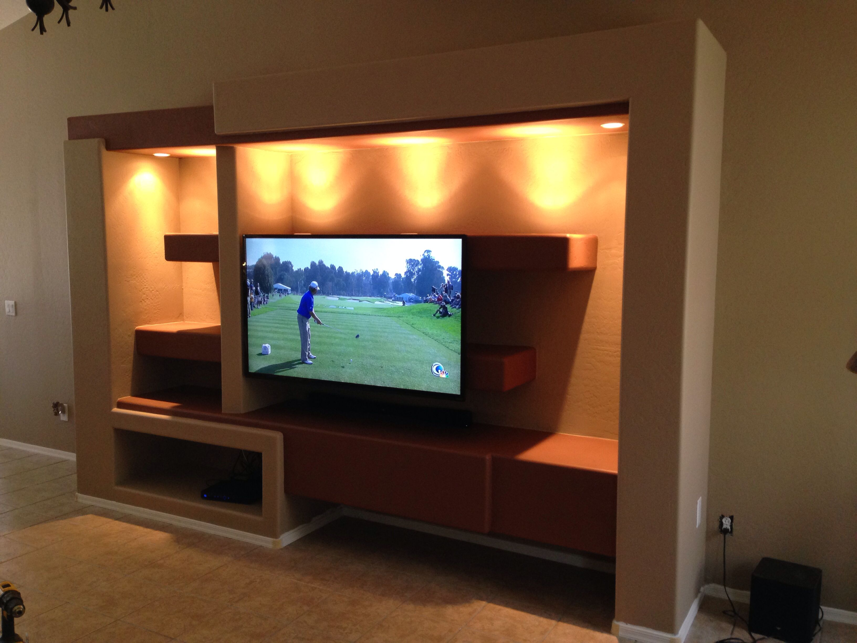 Custom Home Entertainment Center
