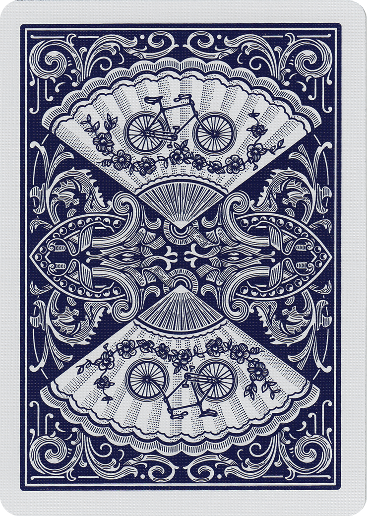 Bicycle New Fan Back Playing Cards Card Art Vintage Playing Cards