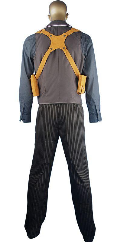 BioShock Infinite Booker Dewitt cosplay costume halloween costume christmas  xmas gift valentine's day gift gift for