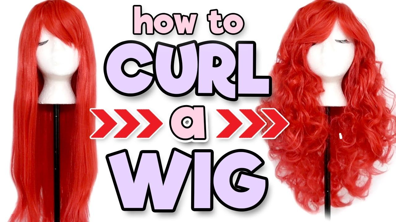 How to Curl a Wig Alexa's Wig Series 8 Cosplay wig
