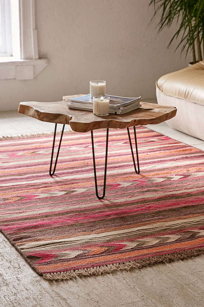 Staci Woven Wool Rug | Wool rug, Spaces and Studio apartment