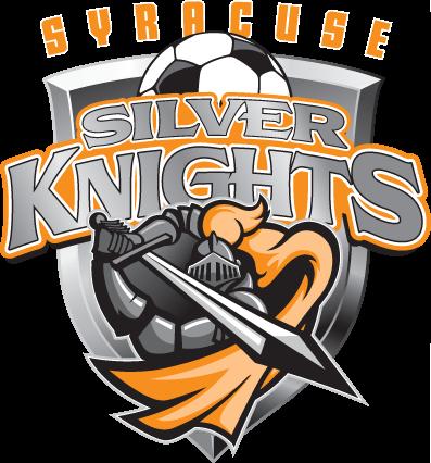 Syracuse Silver Knights Silver Knight Sports Team Logos Soccer Logo