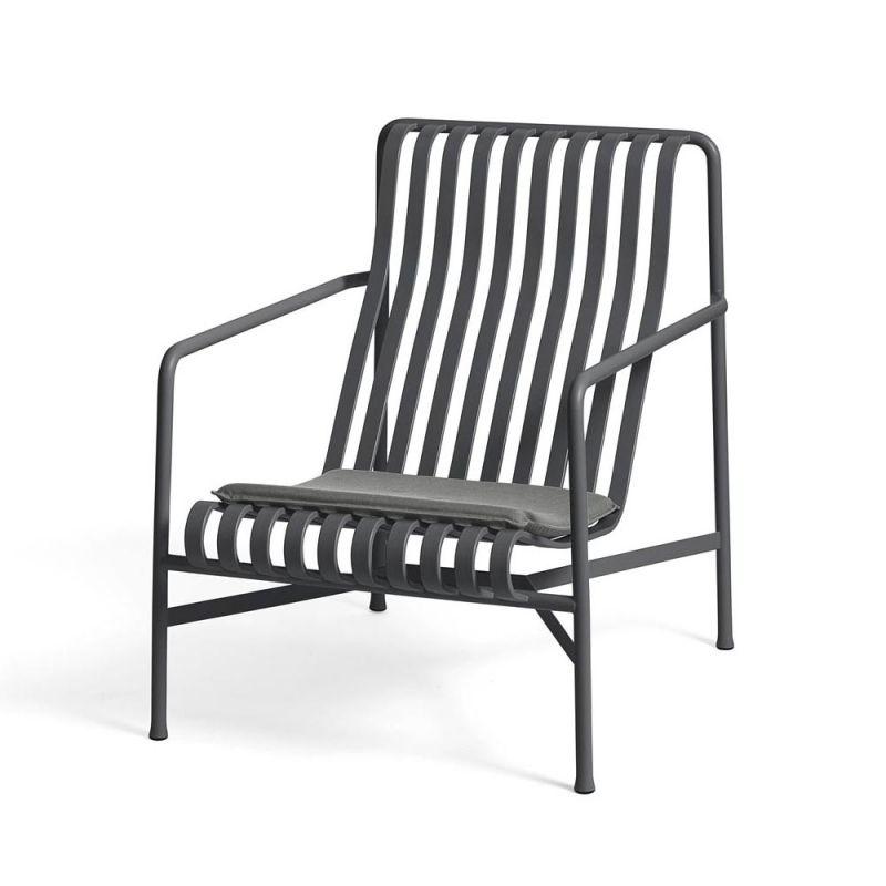 Hay Palissade Loungesessel Hoch Exkl Sitzkissen Sitzkissen Lounge Stuhl Gartenmobel
