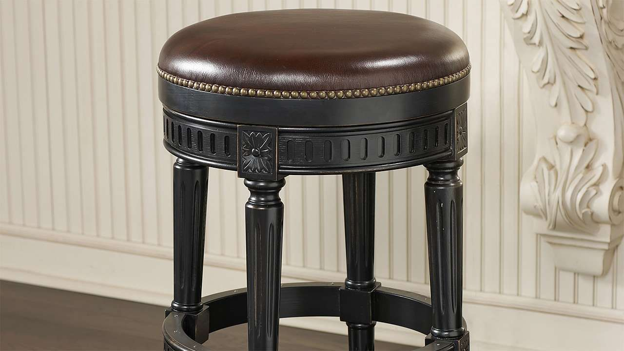 Manchester Swivel Backless Bar And Counter Stools Stools