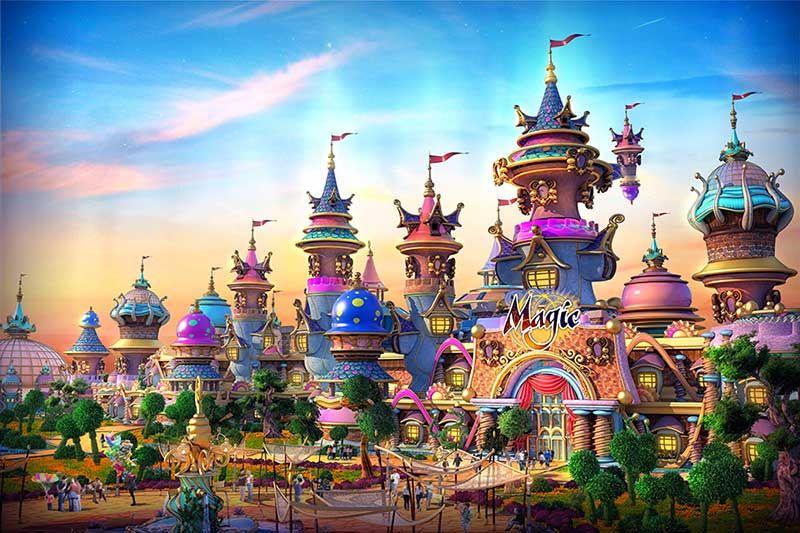 IDEATTACK's Evergrande Fairytale World theme park designs