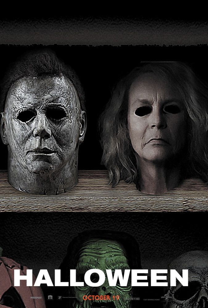 Halloween (2018) Masks Michael myers, Scary movies