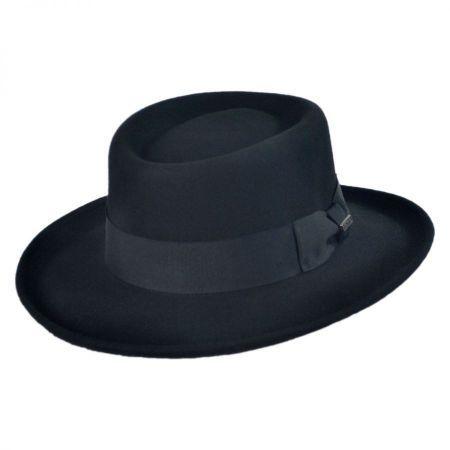86f47d2e6babc Jaxon Hats Wool Gambler Hat