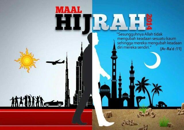 Salam Maal Hijrah 1436h Islamic Inspirational Quotes Islamic Background Vector Islam