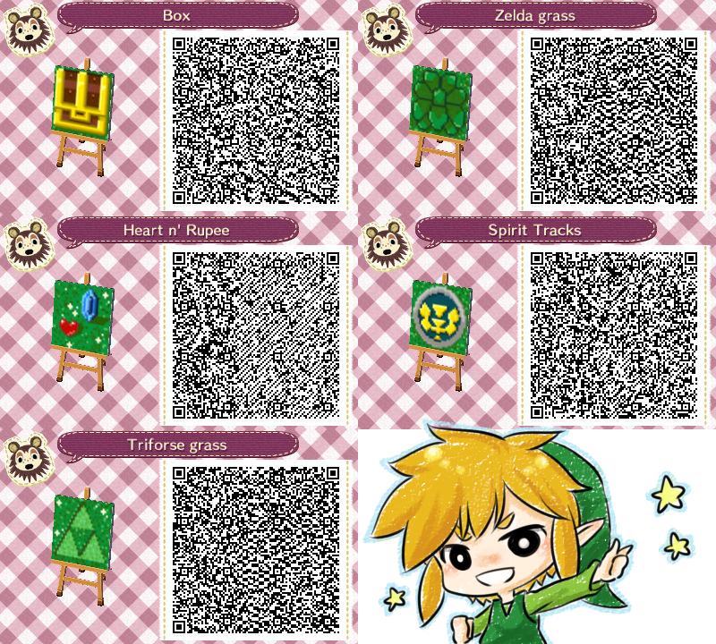Legend of Zelda Path QR Codes