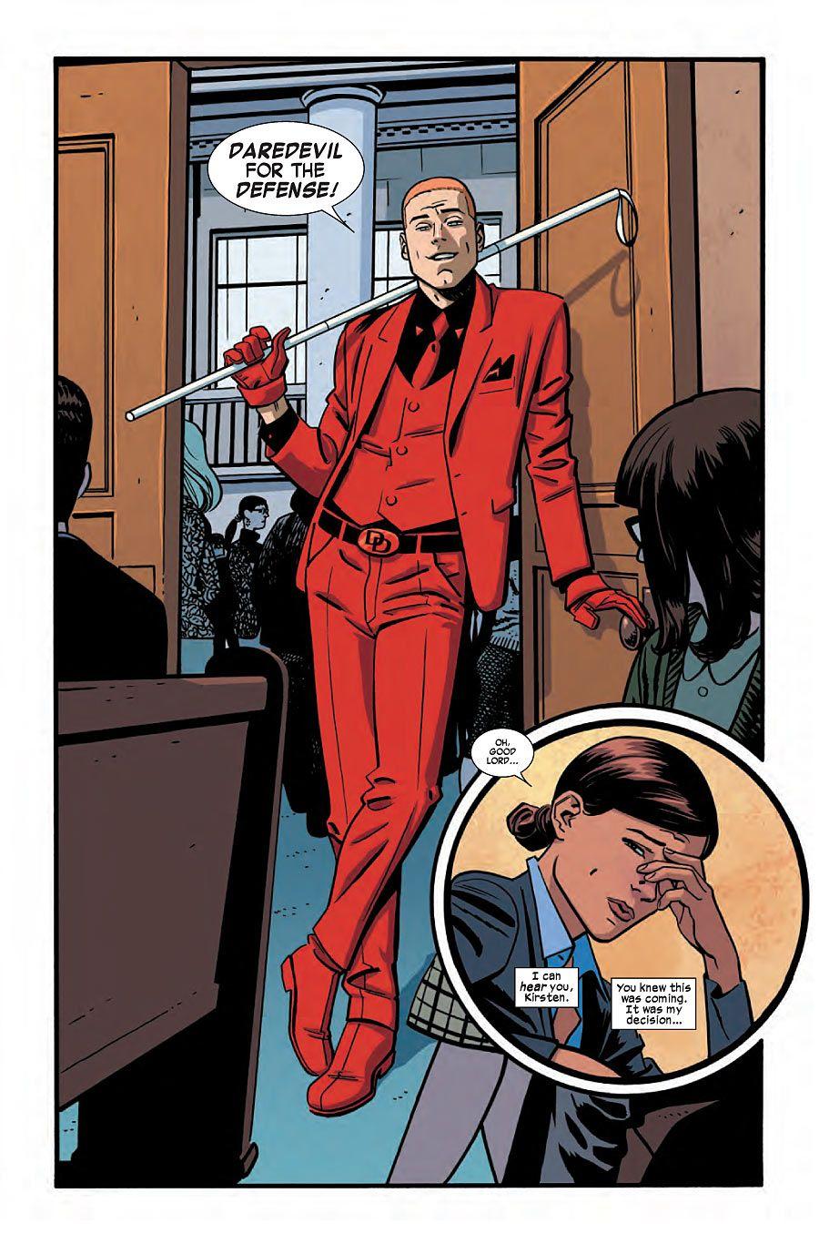 COMICS: 'Matt Murdock' Gets A Strange New Look In First Look At DAREDEVIL  #14