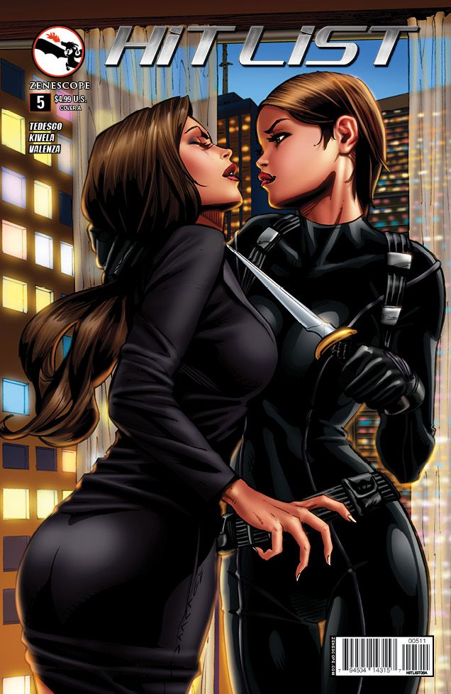 Hit List #5 (Cover A) #Zenescope #HitList (Cover Artist