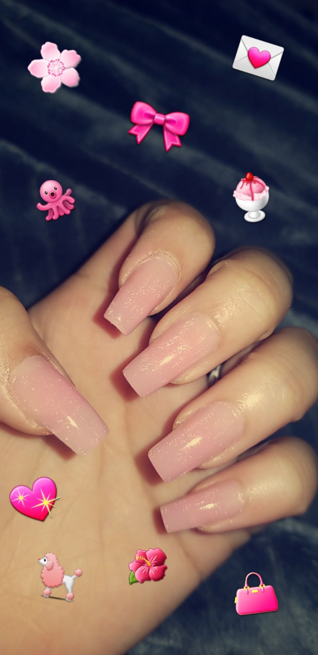 Baby Pink Polygel Nails Polygel Nails Gorgeous Nails Nails