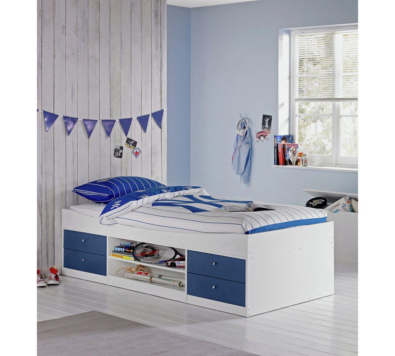 Buy Argos Home Malibu Single Cabin Bed Frame Blue on