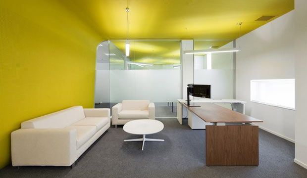 Attrayant Modern Office Color Scheme Idea