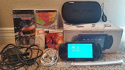 Sony PSP 1000 Value Pack Black Handheld System (PSP-1001K) https://t.co/U96e1Q9AXO https://t.co/mV57iCJnNj