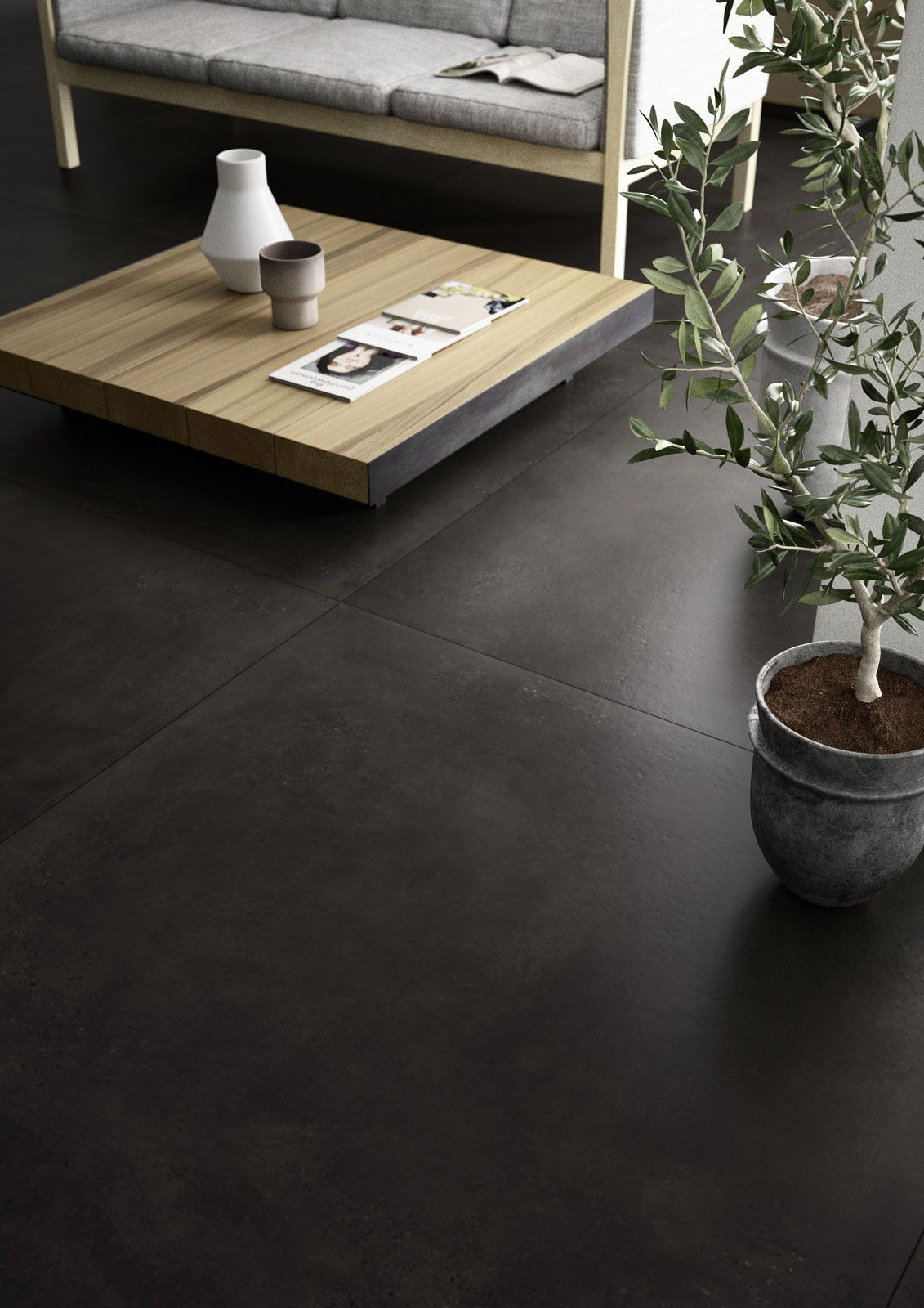 carrelage grand format marazzi 7197 extension. Black Bedroom Furniture Sets. Home Design Ideas