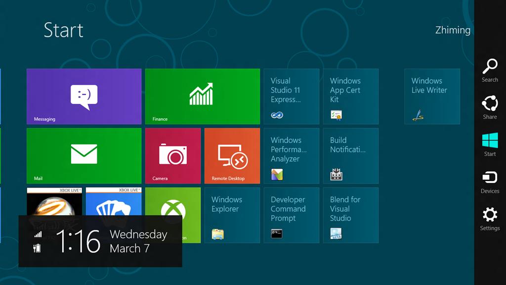 Windows 8 Search UI in Windows 10