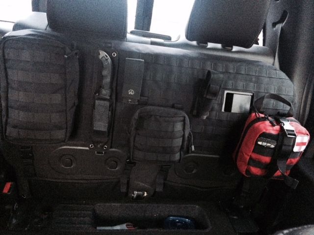 Molle Tactical Rear Seat Cover Show Tell Ford F150 Forum Community Of Ford Truck Fans Truck Accessories Ford Tactical Truck Tactical Seat Covers