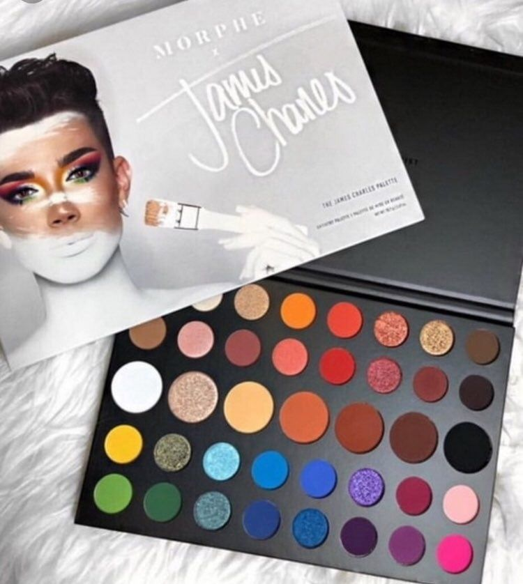 Authentic James Charles Pallet Bought From The Ulta Store Condition New James Charles Morphe Eyes James Charles Morphe Eyeshadow Palette Morphe Eyeshadow Morphe beams nails makeup make up ongles finger nails face makeup nail. james charles morphe eyeshadow palette