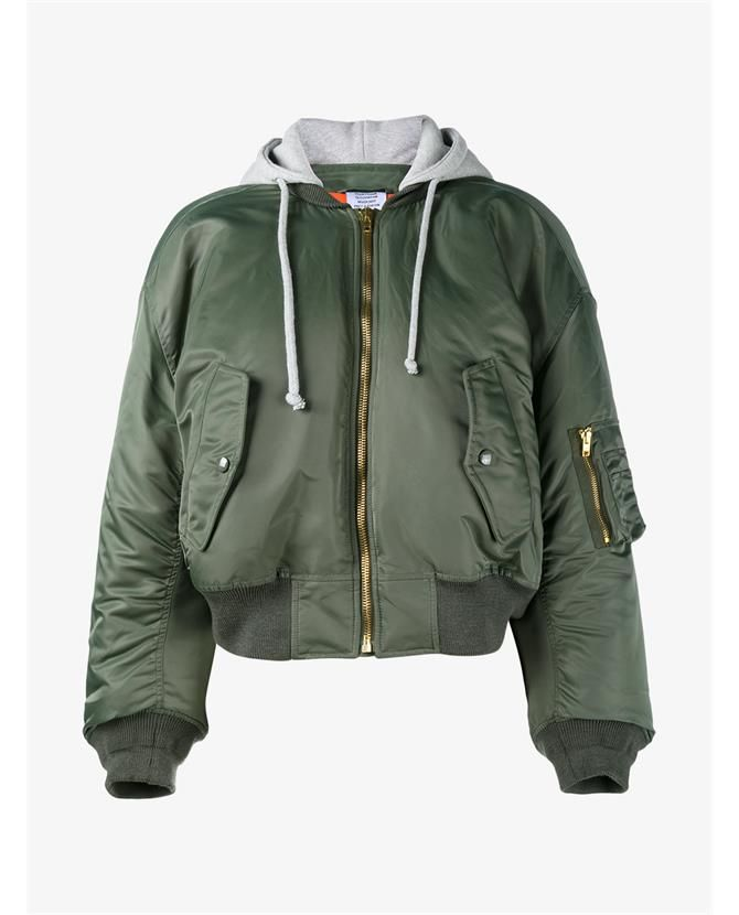 621c91a9a VETEMENTS Bomber Jacket With Orange Lining.  vetements  cloth ...