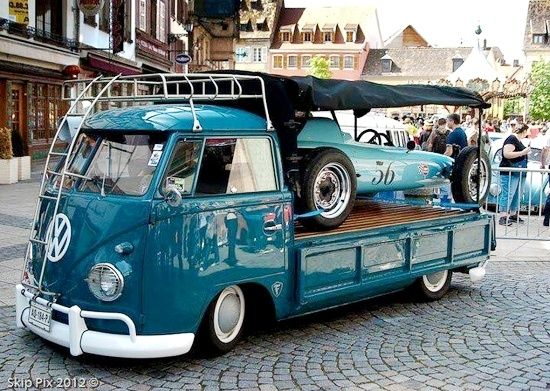 Pretty Cool Vw Car Hauler