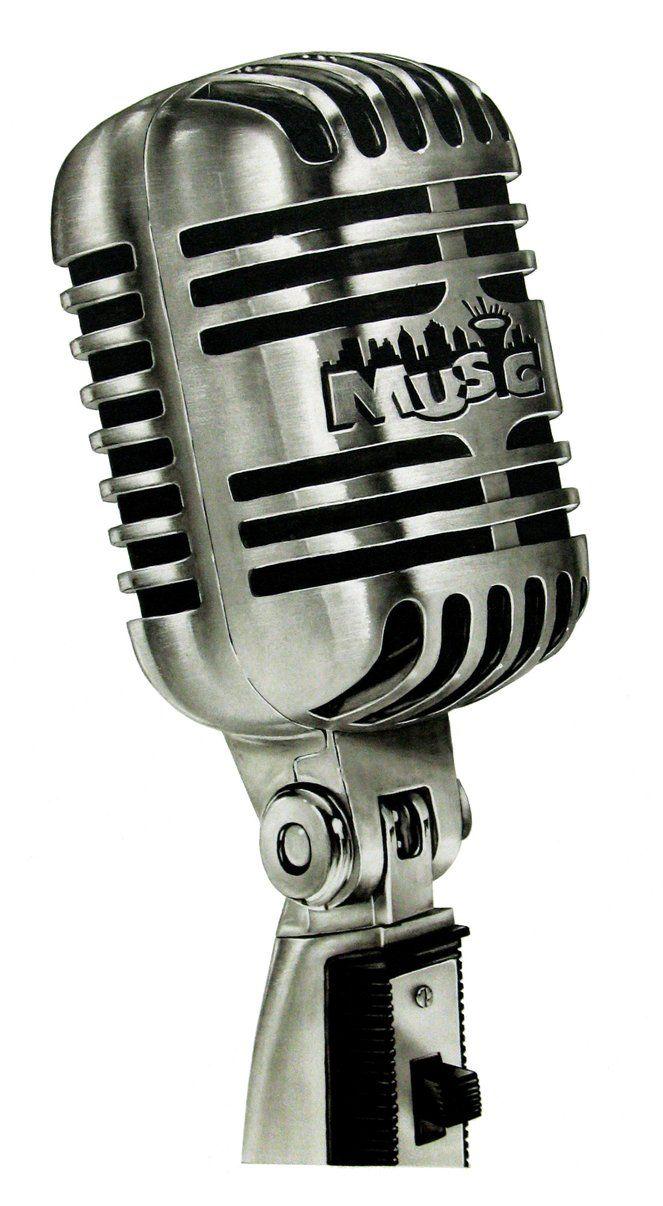 Abel Tatu Porn microphone illustrationbblgumking   vintage microphone