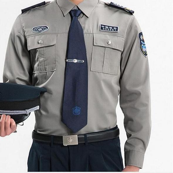 Happy Time Men Military Shirt Security Clothing Men Blue Long Sleeve S Cgabuy Military Shirts Blue Long Sleeve Shirt Mens Outfits