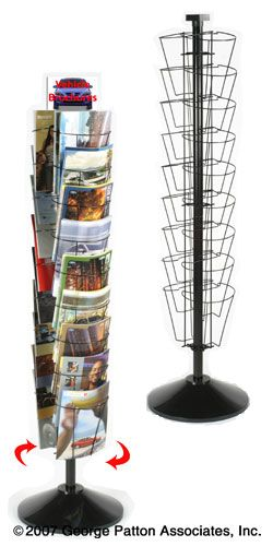 Counter Literature Racks White Wire Displays For Magazines Countertop Display Retail Display Table Top
