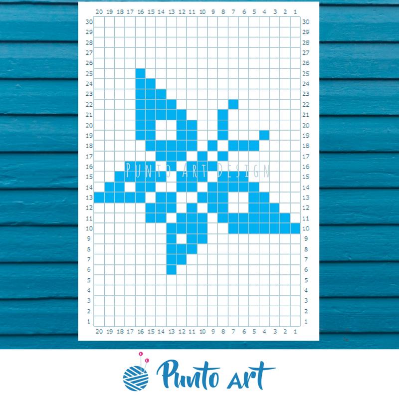 free pattern butterfly #knitting #crochet #punto #patron #pattern ...