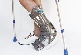 How Does a Walking Cast Work | Walking cast Broken ankle ...