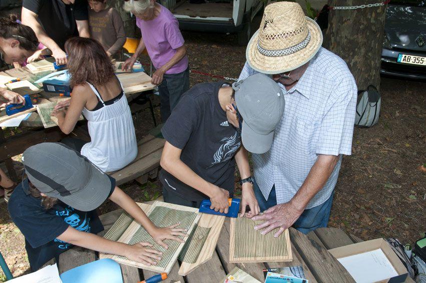 Fabrication de nichoirs chauves souris chauves souris de sologne d couverte des - Maison a insectes fabrication ...