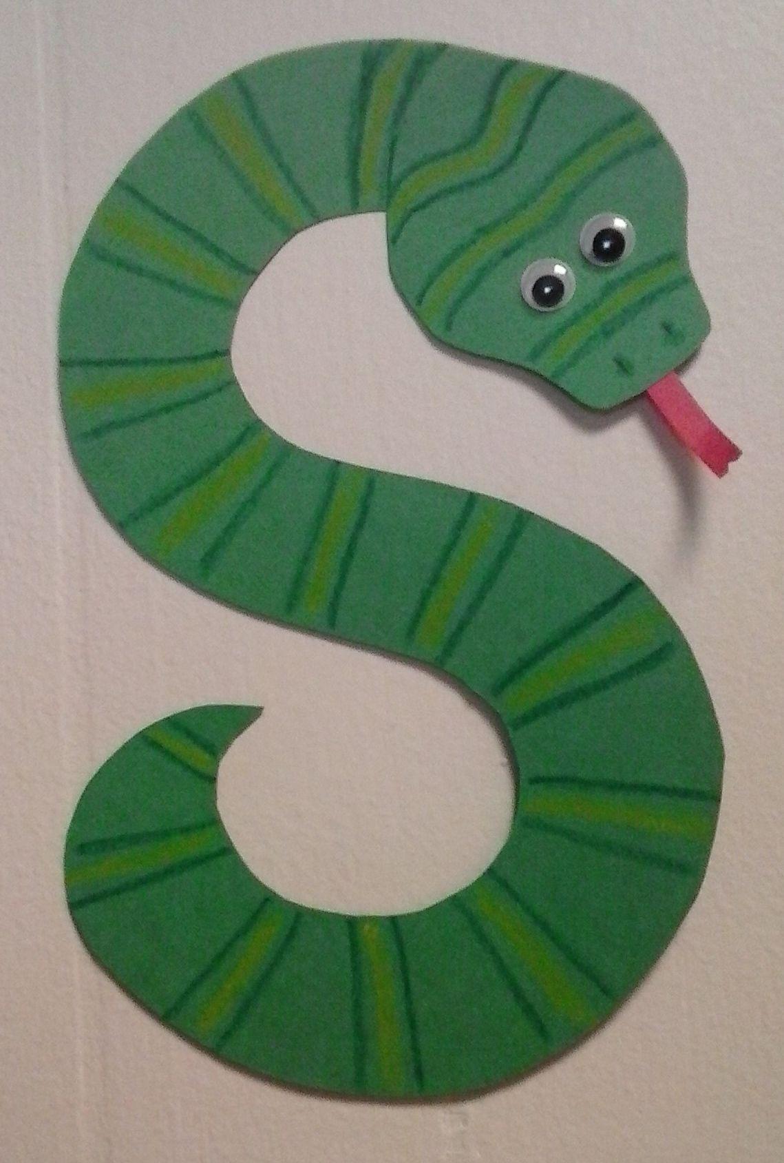 Preschool Letter S S Is For Snake