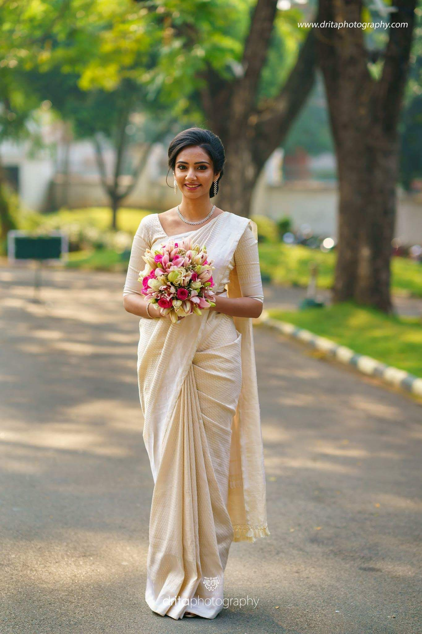 Kerala Christian Bride Christian wedding sarees, Indian