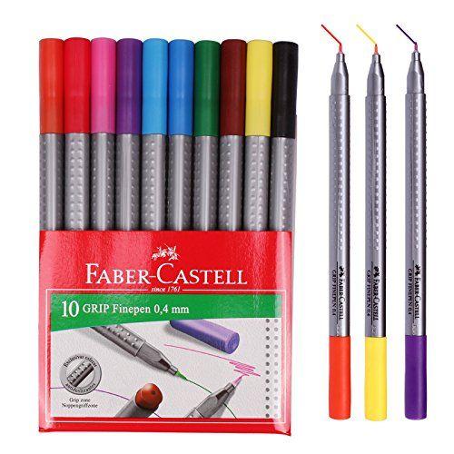 Faber Castell Color Marker Fineliner Grip Fine Pen 0 4 Mm Https
