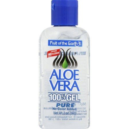 Fruit Of The Earth Aloe Vera 100 Gel 2 Oz Walmart Com Aloe Vera Gel Aloe Vera Lotion Aloe Vera