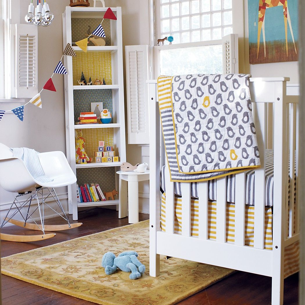 Not a Peep Land of Nod quilt Cribs, Crib bedding, Baby
