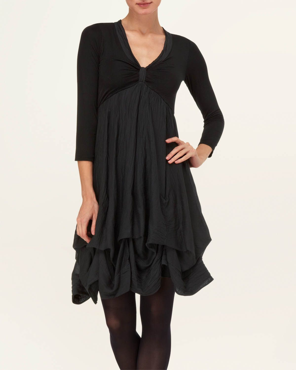 Ruthie 3/4 Sleeve Hook-Up Dress