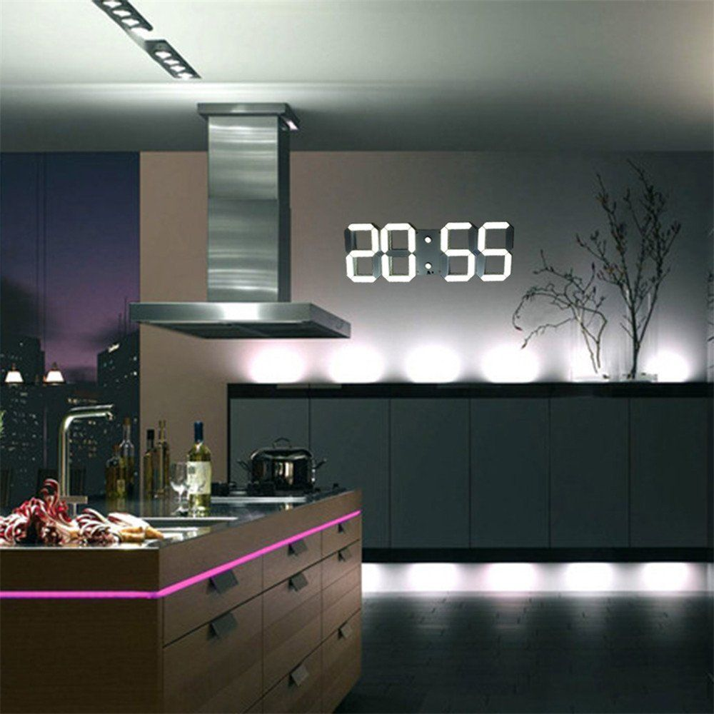 You Can Buy This Bachelor Pad Must 3d Modern Digital Wall Clock