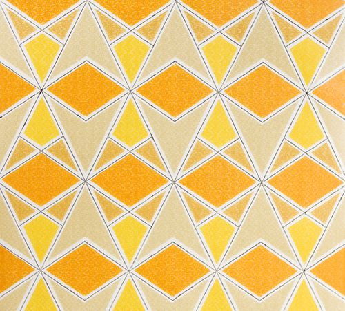 retro wallpaper from Retro Villa via Mint design blog