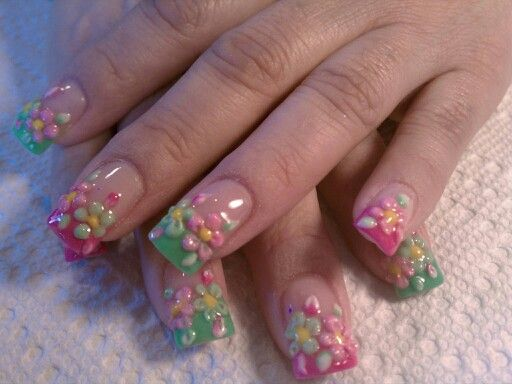 Easter nails by Maria.