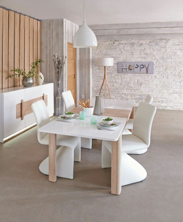 Conforama | home decor | Mesas extensibles, Mesas y Decoracion salon ...